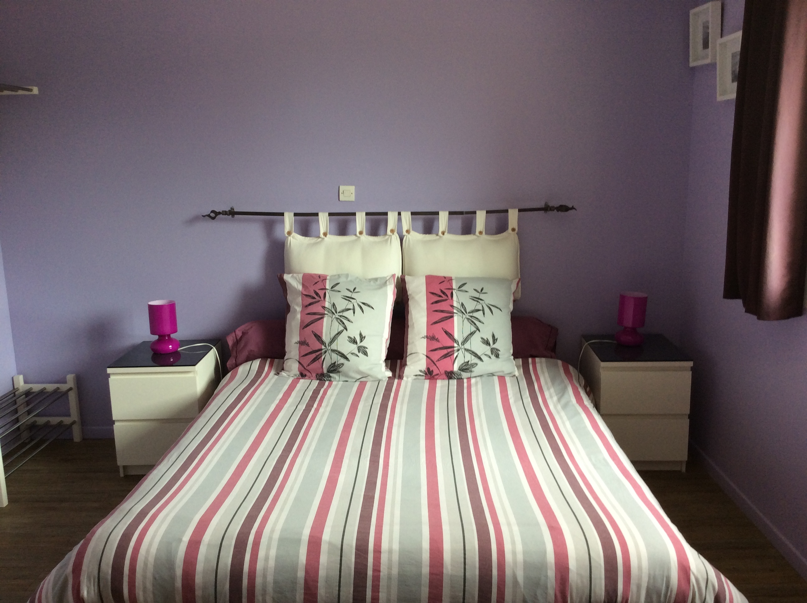 Chambres Dhôtes Les Fleurs Bleues à Laroque Ganges En Cévennes - Chambre adulte simple